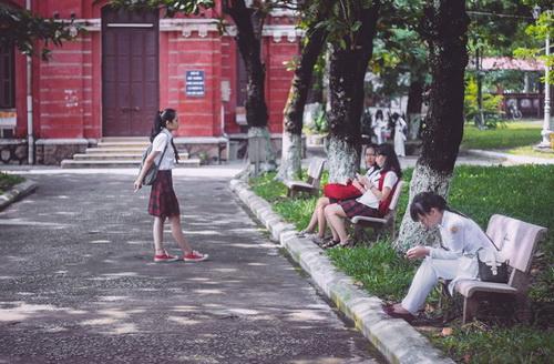 Mái trường mến yêu Cát Trắng, Đan Thư, Huyền Mai, sáng tác: Lê Quốc Thắng